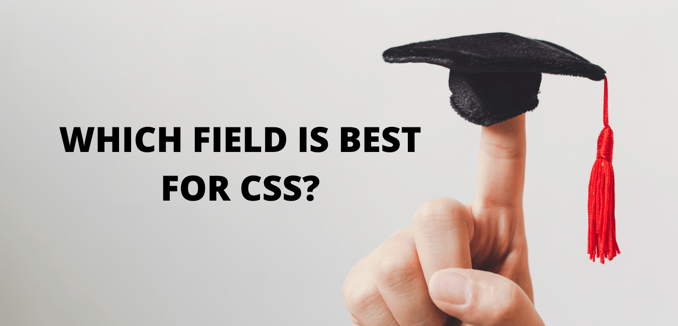 WHICH FIELD IS best FOR CSS
